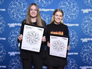 Fanny Hultman och Madelene Eliasson