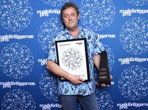 Anders Hillborgs pris togs emot av brodern Göran Hillborg
