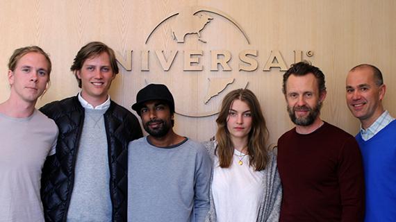 Universal Music Publishing Scandinavia kontrakterar Hannes Netzell