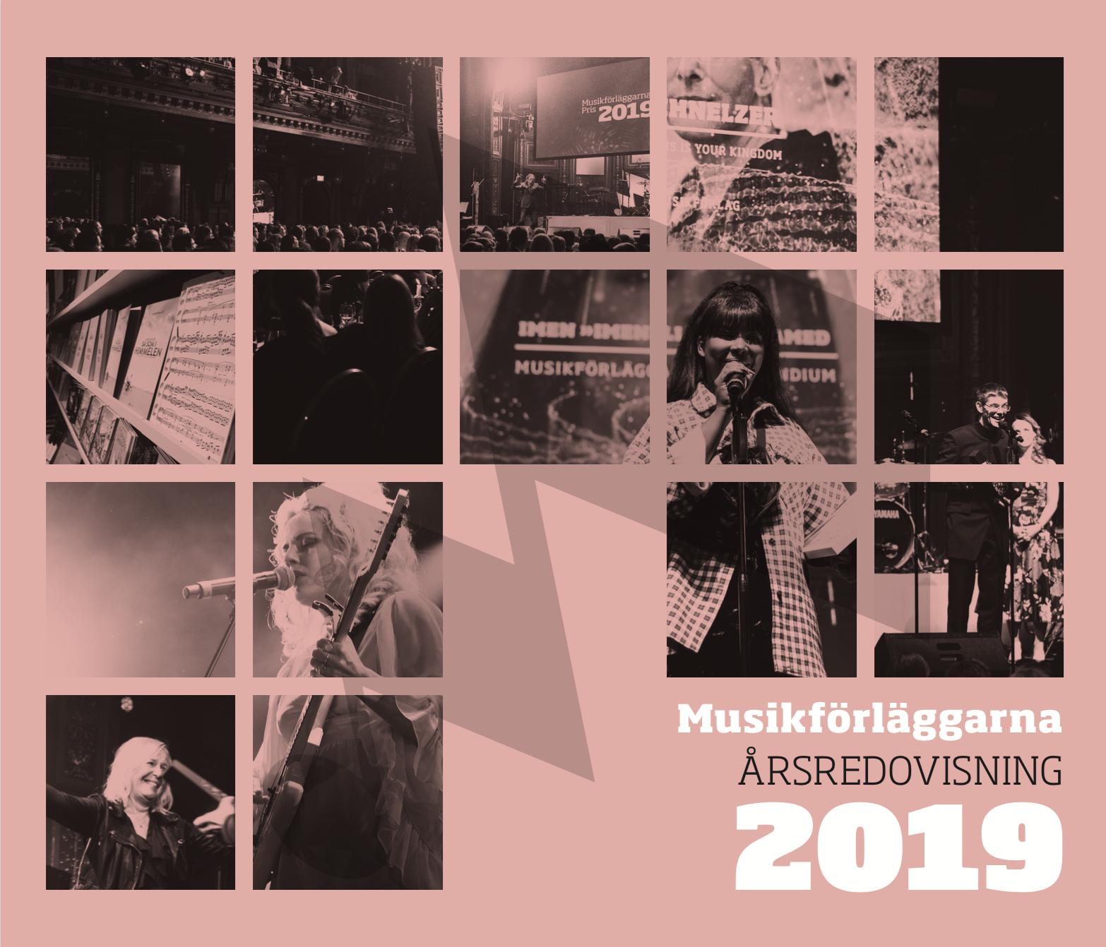 Musikförläggarnas årsredovisning 2019