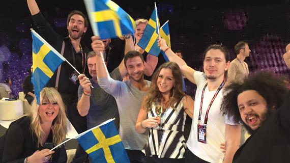 Sverige vann Eurovision Song Contest 2015