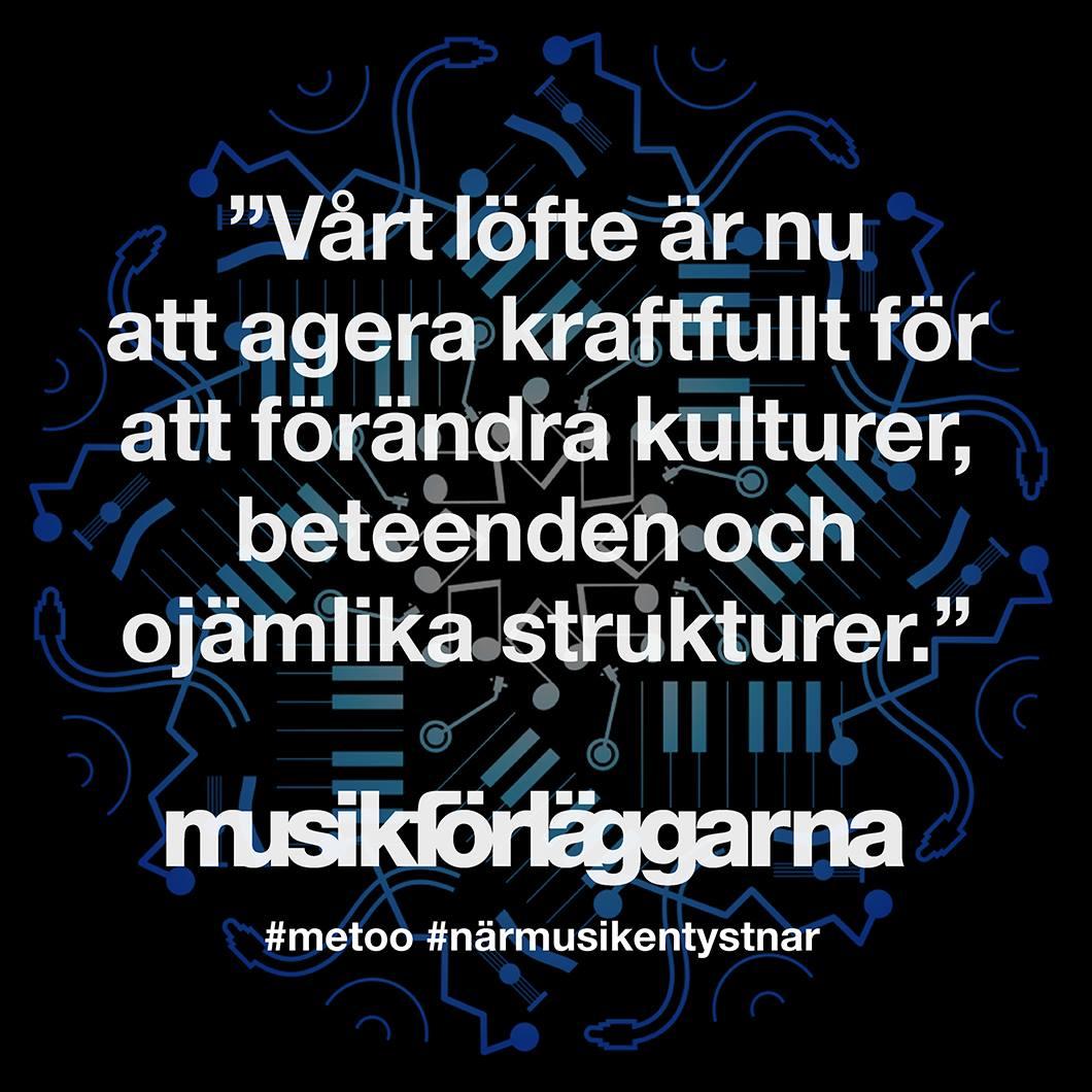 #närmusikentystnar
