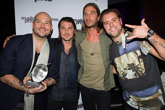 Årets vinnare av Musikförläggarnas Pris