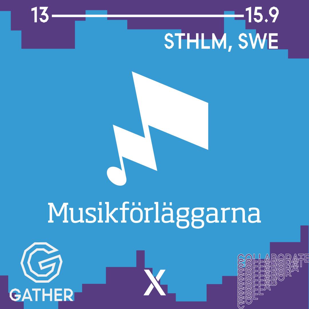 Musikförläggarna utmanar upphovsrätten i framtida musiktjänster på Gather