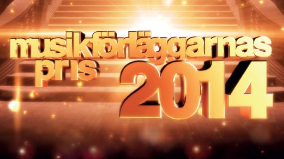 Nominerade till Musikförläggarnas Pris 2014