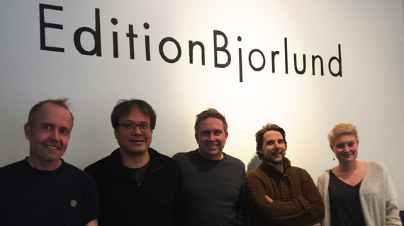 Monza Publishing i internationellt samarbete med Edition Björlund