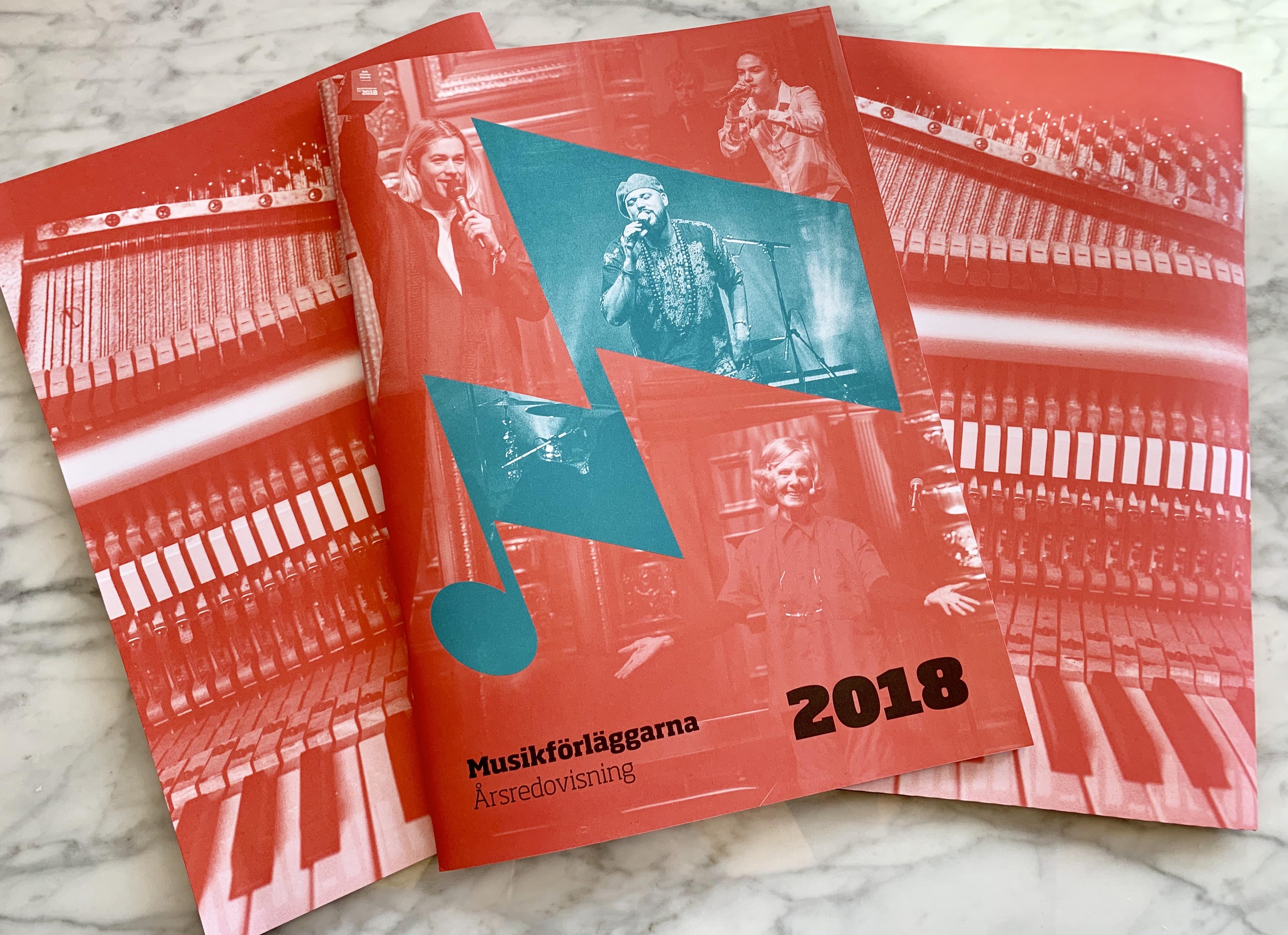 Musikförläggarnas årsredovisning 2018